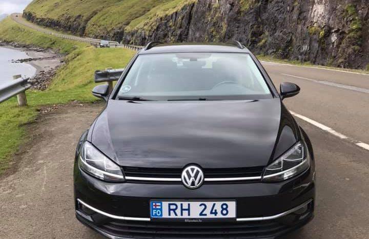 Volkswagen Golf 2017 fullan skerm