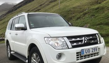 Mitsubishi Pajero 2012 fullan skerm
