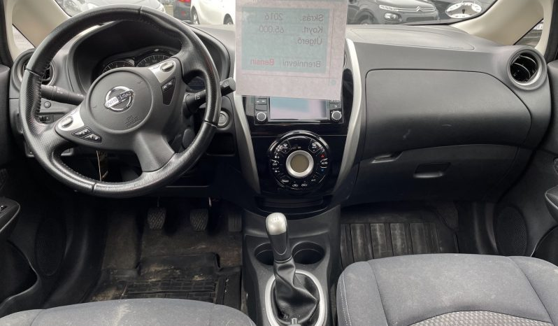 Nissan Note 2016 fullan skerm